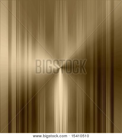 Gold Metallic Stripes Background