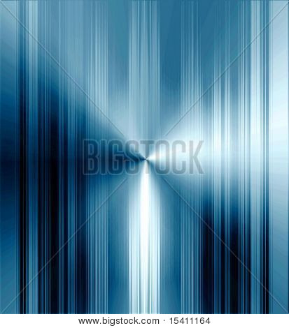 Blue Metallic Stripes Background