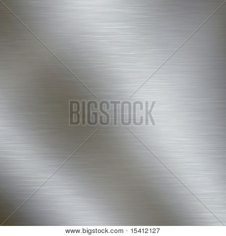 Large Brushed Metal Plate