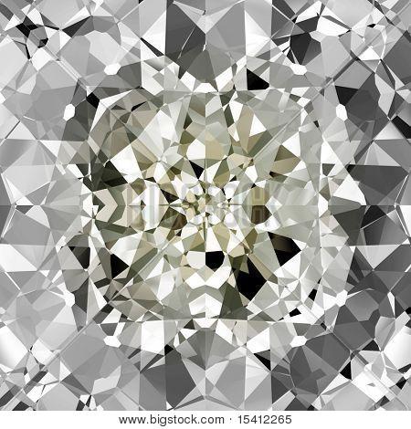 Beautiful Diamonds Background, See Vector Also In My Portfolio