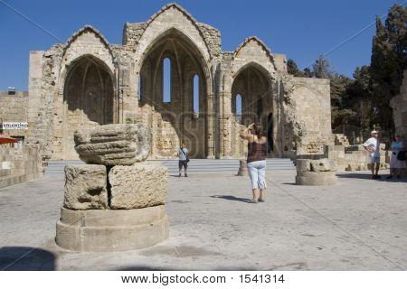 Panaghia Bourgou Church, Rhodes, Greece