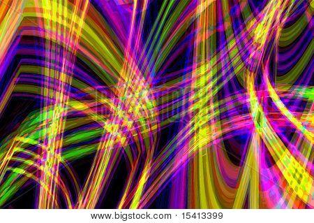 Vector Neon Lights, See Jpeg Also In My Portfolio