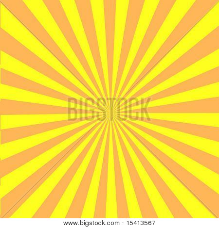 Vector Retro Sun Burst
