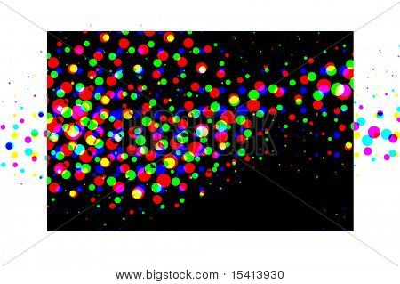 Vector Colorful Retro Explosion, See Jpeg Also In My Portfolio