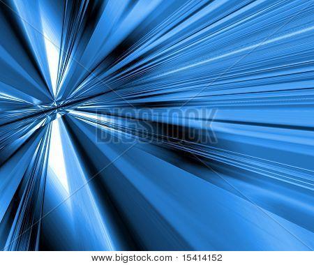 Blaue Blast