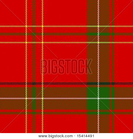 XL Seamless Christmas Plaid