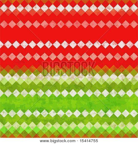 Vector Seamless Christmas Grunge Background