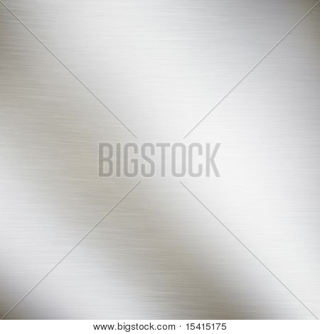 XL Large Brushed Metal Plate