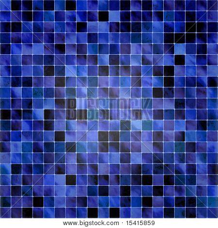 XL Seamless Deep Blue Tiles Background