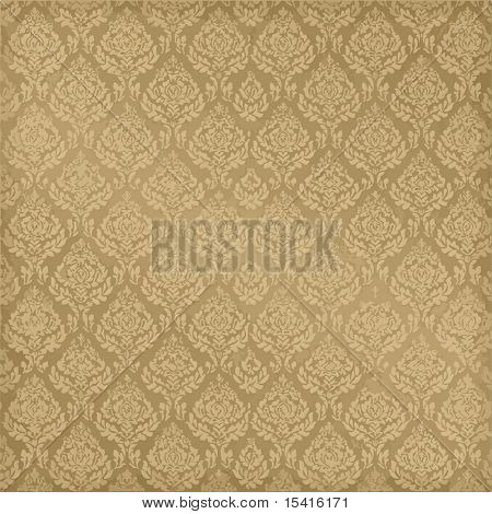 Vector Seamless Damask, See Jpeg Also In My Portfolio