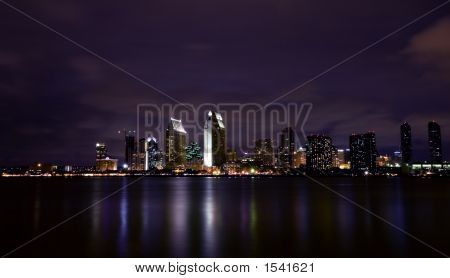 San Diego By Night