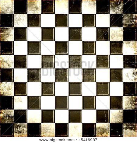 Checkerboard Grunge