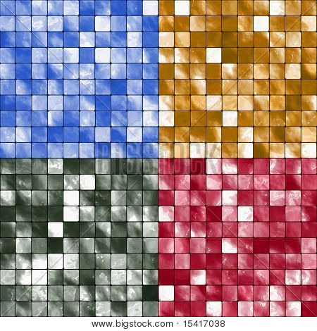 Seamless Tiles Set, Also Vector Is Available