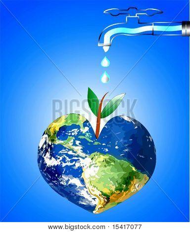 Vector Keep Earth Green