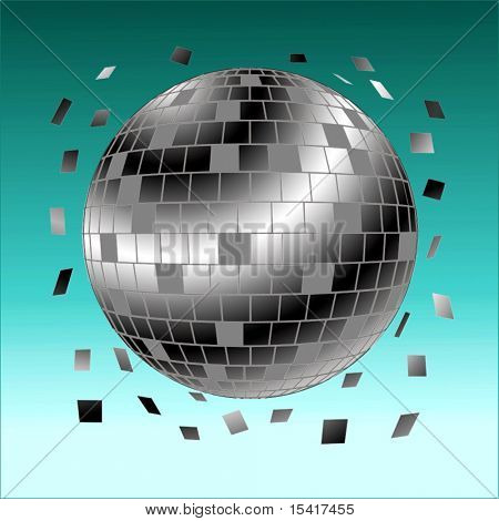 Vector Globe Of Tiles Abstract