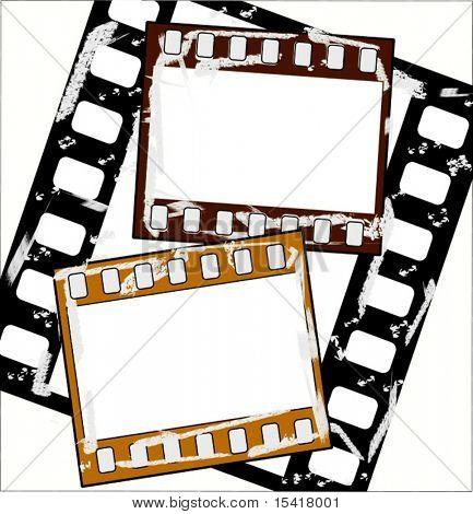 Vector Grunge Film Set