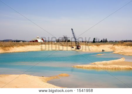 Gravel Pit Dredge
