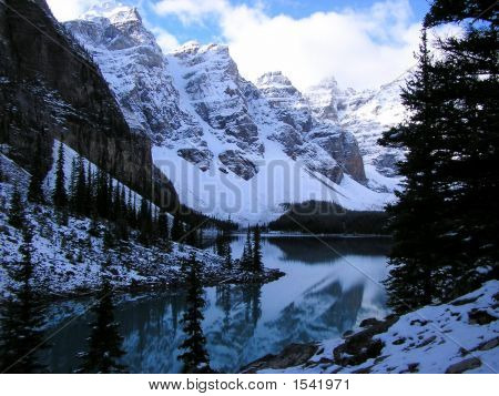 Autumn In The Valley Of The Ten Peaks, Banff National Park, Canada