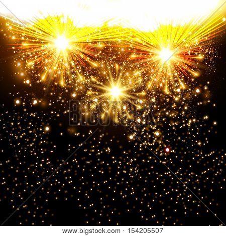 fireworks background New Year celebration background