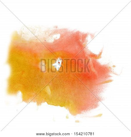 paint splash color ink watercolor isolate lime stroke splatter Red Yellow watercolour aquarel brush art