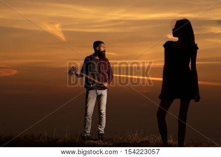 Couple On Twilight