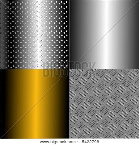 Vector Metal Plates Set