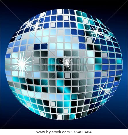 Vector Disco Mirrorball