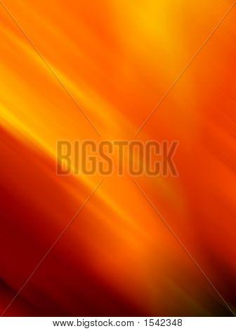 Orange-Red Background Blur