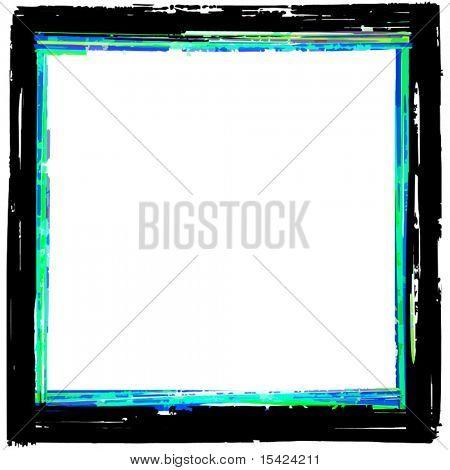 Vector Grunge Border Frame