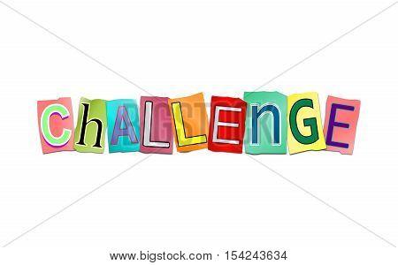Challenge Word Concept.
