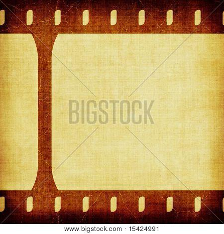 Grunge Film Strip Seamless Background