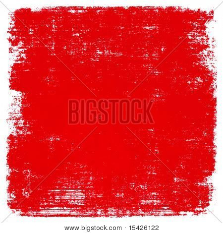 Red Paint Grunge