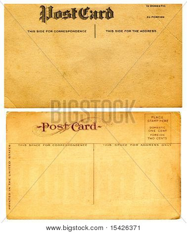 Vintage Postcards From Early 1900s