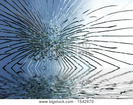 Broken Glass Ripple