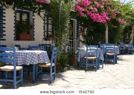 Typical Greek Taverna