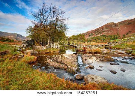 Slater's Bridge In The Lake District