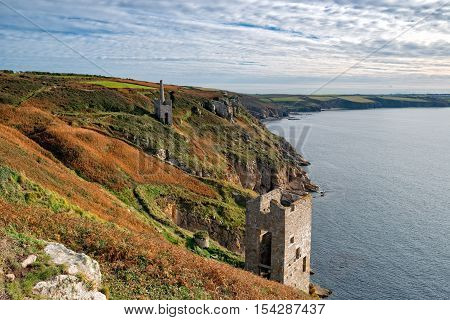 Wheal Trewavas At Rinsey In Cornwall