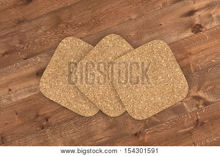 Beer Cork Coasters.