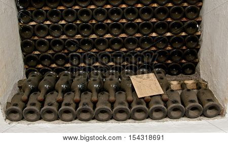 Rare Wines In Massandra Winery In Crimea