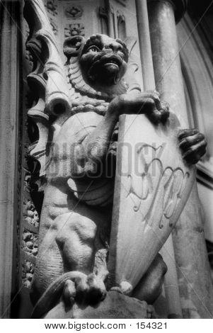 Grotesque Stone Creature