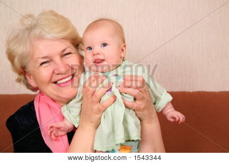 Grandmother With Baby