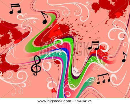Music abstract grunge background. Jpeg version also available in gallery