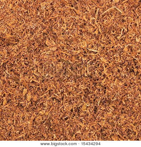 Cut Pipe Tobacco Texture Background