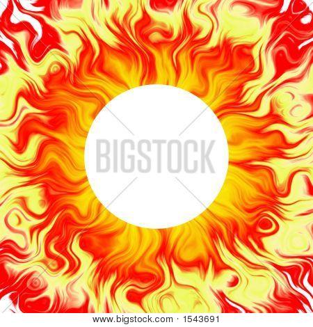 Sun Background, Solar, Fiery Aura