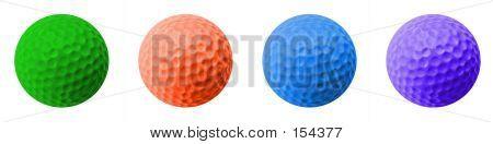 4 Golf Balls