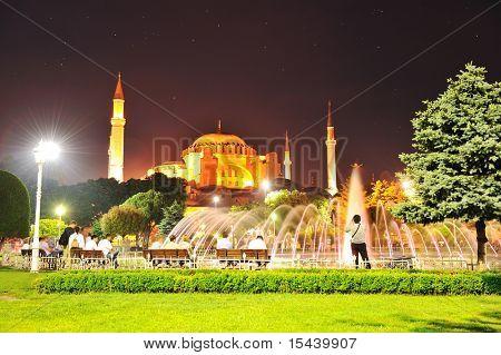 Istanbul, gorgeous night scene