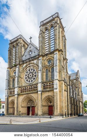 Bayonne - Church of Saint Andre in France