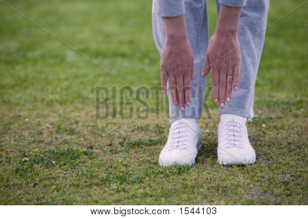 Trying To Touch Toes