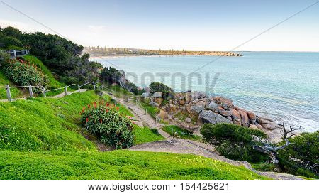 Horseshoe Bay in Port Elliot South Australia