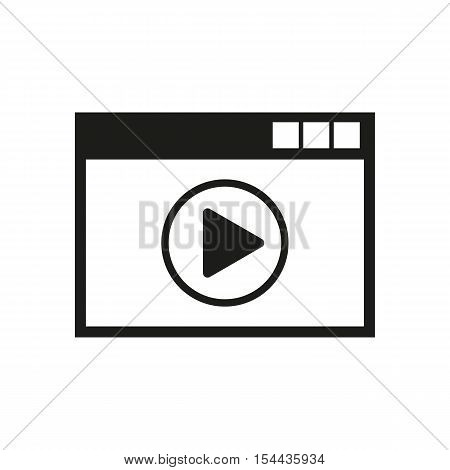 Online player icon. online player vector design. online player symbol. online player web. online player graphic. app. logo. object. flat. image. sign. eps. art. picture - stock vector